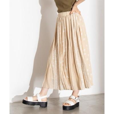 スカート WEGO/パターンプリントスカート