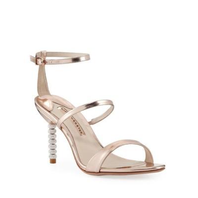 ソフィアウェブスター レディース サンダル シューズ Rosalind Metallic Sphere-Heel Sandals