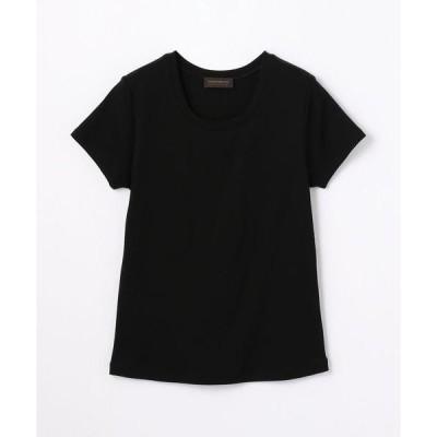 tシャツ Tシャツ コットンジャージー ハーフスリーブプルオーバー
