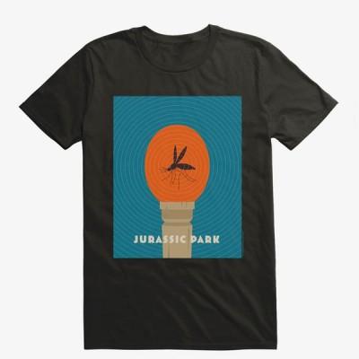 ジュラシックパーク Tシャツ ジュラシックワールド Jurassic Park 海外映画 Movie Mosquito Amber メンズ