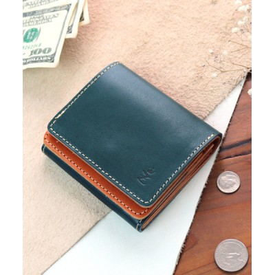 KAZZU / [ZARIO-grandee-/ザリオ-グランデ-] コンパクト二つ折り財布 メンズ 栃木レザー ZAG-0038 MEN 財布/小物 > 財布