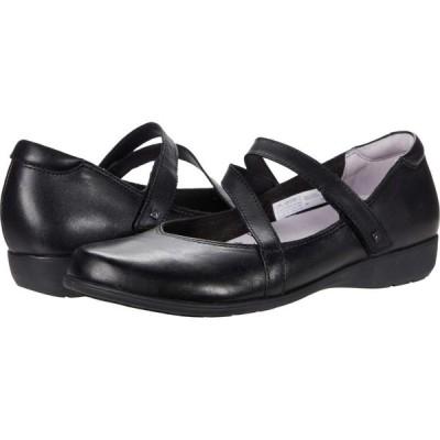 アラヴォン Aravon レディース スリッポン・フラット シューズ・靴 Abbey Z-Strap Black