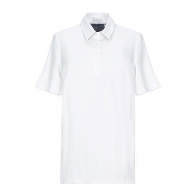VAN LAACK ポロシャツ ホワイト 38 コットン 100% ポロシャツ