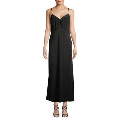 ミュウミュウ ワンピース トップス レディース Miu Miu Open-Back Flare Dress black