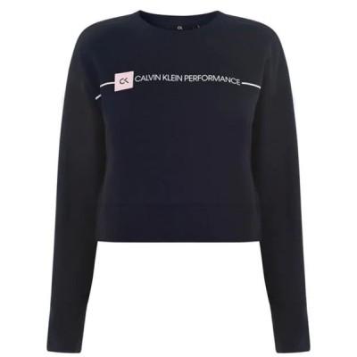 カルバンクライン シャツ レディース トップス Logo Sweatshirt