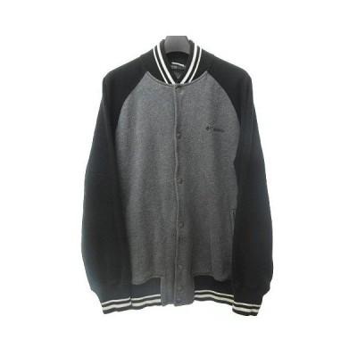 【中古】コロンビア Columbia ブルゾン スタジャン ジャケット アウトドア ウェア グレー ブラック M 1117 RRR メンズ 【ベクトル 古着】