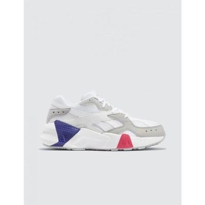 リーボック Reebok メンズ スニーカー シューズ・靴 Aztrek Double White/Blue/Grey
