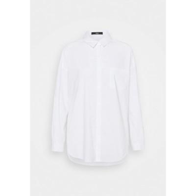 シュテフェン スクラウト シャツ レディース トップス NADJA BLOUSE - Button-down blouse - white