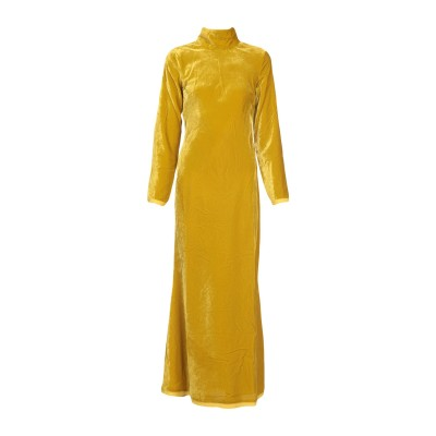 リビアナ コンティ LIVIANA CONTI ロングワンピース&ドレス オークル 42 ポリエステル 100% ロングワンピース&ドレス