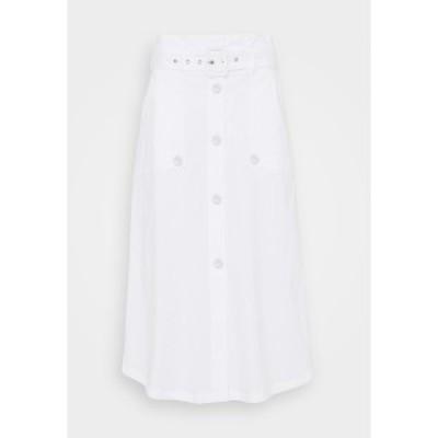 シュテフェン スクラウト レディース スカート ボトムス FANCY SKIRT - A-line skirt - white white