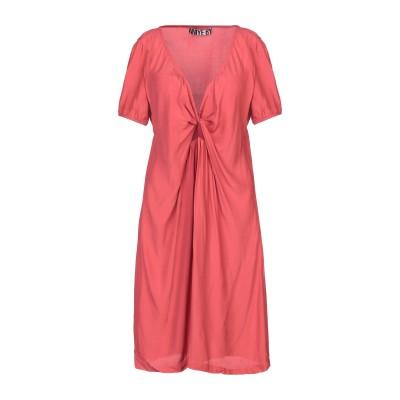 アニヤバイ ANIYE BY ミニワンピース&ドレス コーラル 44 レーヨン 100% ミニワンピース&ドレス