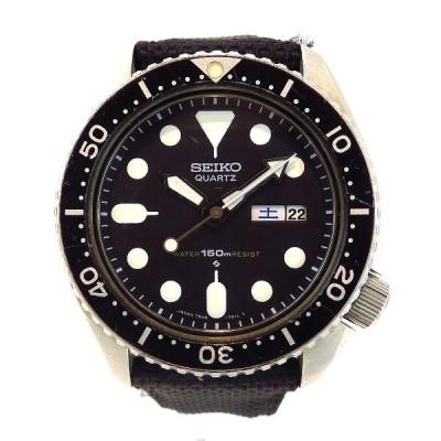 セイコー ダイバーウォッチ 7548-7000 クォーツ 時計 腕時計 メンズ 【中古】【あすつく】