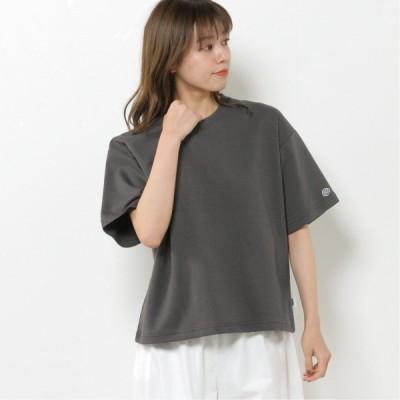 DRYドロップワイド半袖Tシャツ スミクロ M L XL