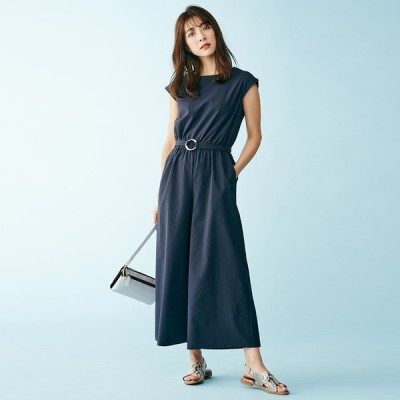 ファッション パンツ サロペット オールインワン ソロテックス素材 オールインワン 248215