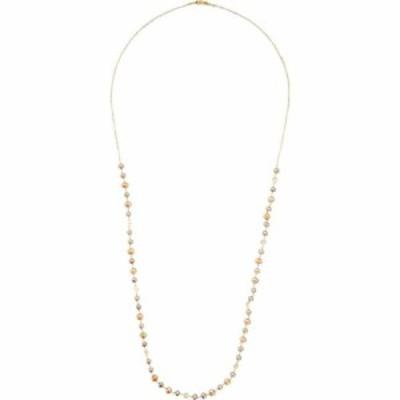 チャンルー Chan Luu レディース ネックレス 18K Gold Plated Sterling Silver Necklace with Freshwater Pearls Champagne Pearl Mix