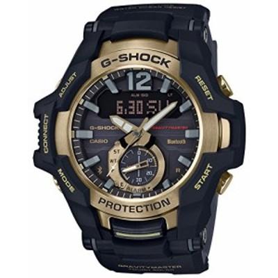 腕時計 カシオ メンズ CASIO G-Shock GR-B100GB-1AJF GRAVITYMASTER Black & Gold Series Solar Watch (Japa