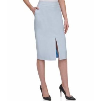 トミー ヒルフィガー レディース スカート ボトムス High Rise Tweed Pencil Skirt Breeze Multi