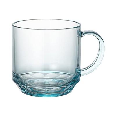 マグカップ コップ コーヒーカップ ブルー 青 340ml 食洗機対応 キャンプ向け 耐熱100度 割れにくい グランピング トライタン素材 日本製
