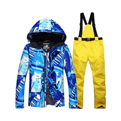 Men's Ski Suits Waterproof Warm Winter Ski Jacket and Pants Snowboard Snowsuit Windproof Hooded Coat