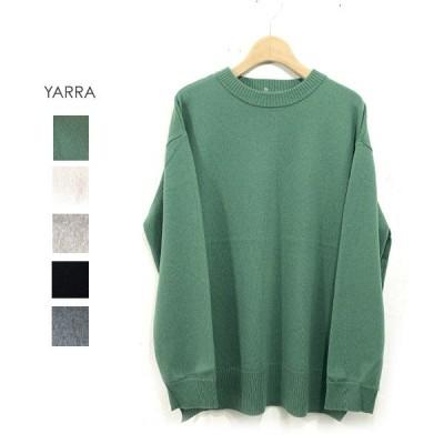 (40%OFFSALE)YARRA(ヤラ)カシミヤ混ハイゲージニットPO(YR-95-075)
