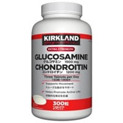 ksグルコサミン1500mg コンドロイチン1200mg 300錠(1日3粒約100日分)【PP】