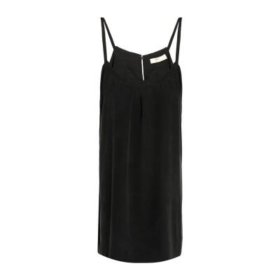 ジョア JOIE ミニワンピース&ドレス スチールグレー M シルク 100% ミニワンピース&ドレス
