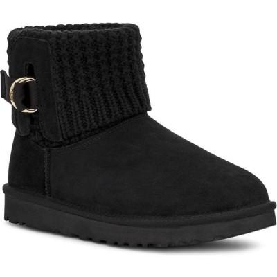 アグ UGG レディース ブーツ シューズ・靴 Mini Classic Solene Boot Black Suede