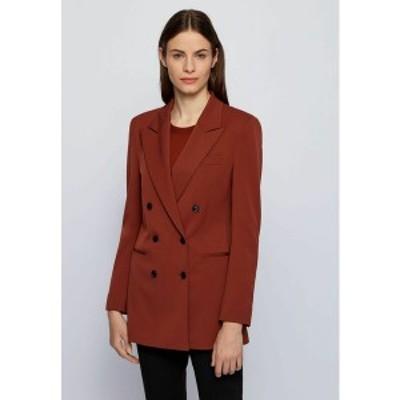 ボス レディース ジャケット&ブルゾン アウター Short coat - brown brown