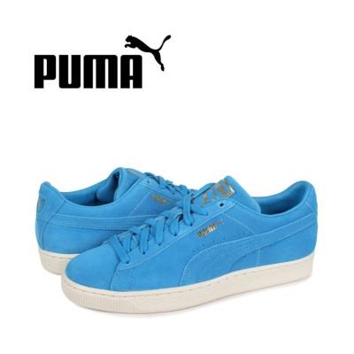 【スニークオンラインショップ】 プーマ PUMA スウェード モノ クラシック スニーカー メンズ スエード SUEDE MONO CLASSIC ブルー 381921-01 メンズ グレー 28.0cm SNEAK ONLINE SHOP