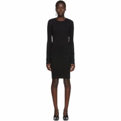 ヘルムート ラング Helmut Lang レディース ワンピース ワンピース・ドレス Black Double Layer Dress Black