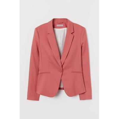 H&M - フィットジャケット - レッド