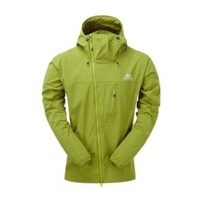 MountainEquipment アウトドアジャケット Squall Hooded Jacket  XL  K12(キウイ)