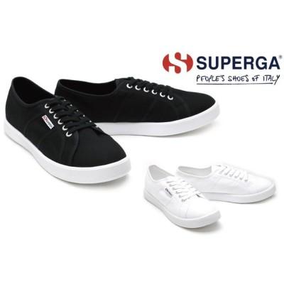 スペルガ / SUPERGA メンズ スニーカー s00al60 スニーカー ブラックホワイト ホワイト