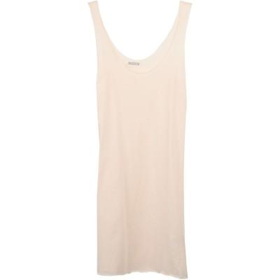 アルファスタジオ ALPHA STUDIO ミニワンピース&ドレス ライトピンク 38 コットン 100% ミニワンピース&ドレス