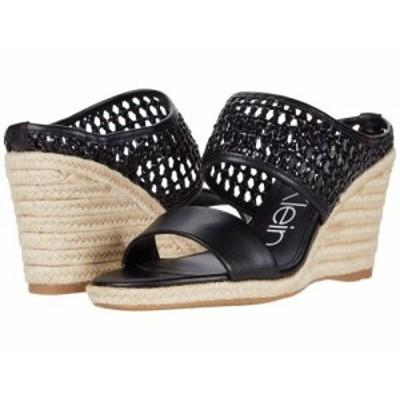Calvin Klein カルバンクライン レディース 女性用 シューズ 靴 ヒール Brooke Black【送料無料】