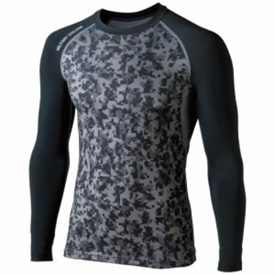 第一精工 60004 MCクールムーバー アンダーシャツ Mサイズ (迷彩×ブラック)DAIICHISEIKO[60004ダイイチセイコウ]【返品種別A】