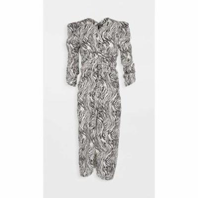 イザベル マラン Isabel Marant レディース ワンピース ワンピース・ドレス Albi Dress Ecru/Black