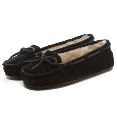 ミネトンカ MINNETONKA CALLY  SLIPPER(BLACK)