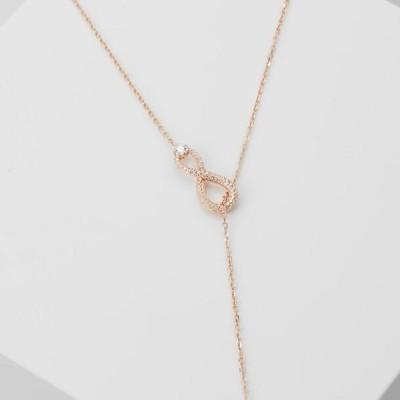 スワロフスキ レディース アクセサリー SWA INFINITY:NECKLACE Y INF - Necklace - crystal