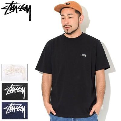 ステューシー カットソー 半袖 STUSSY メンズ Stock Logo ( stussy crew クルー Tシャツ T-SHIRTS トップス 男性用 1140194 USAモデル 正規 )