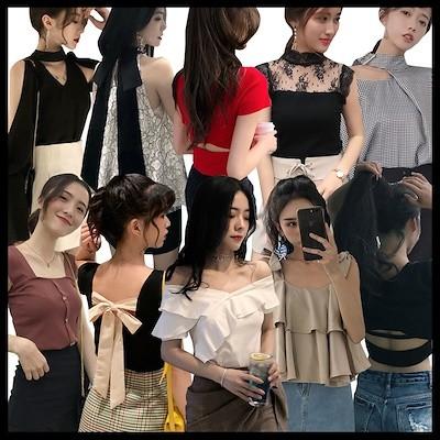 【2枚送料無料✨3枚+1枚 5枚+2枚】セーター 着痩せ 韓国ファッション カジュアル シンプル ニットソー ボタン トップス リブ ハイネック ニットソー レースニット セーター