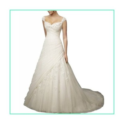 Borje Noble A-line Sweetheart Long Wedding Dresses Bridal Gown Ivory並行輸入品