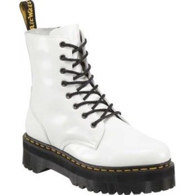 ドクターマーチン Dr. Martens メンズ ブーツ シューズ・靴 Jadon 8-Eye Boot White Polished Smooth Leather