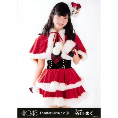 谷口めぐ 生写真 AKB48 2016.December 1 月別12月 B