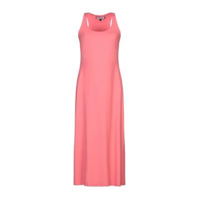 FISICO 7分丈ワンピース・ドレス コーラル S ナイロン 86% / ポリウレタン 14% 7分丈ワンピース・ドレス