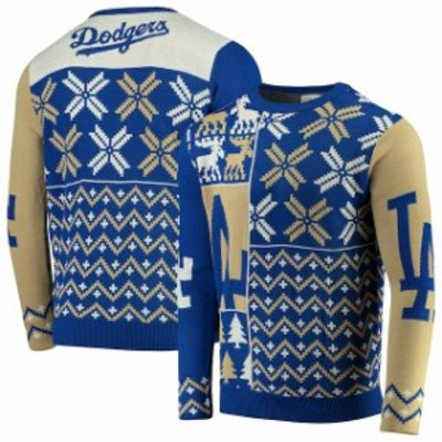 Forever Collectibles フォーエバー コレクティブル スポーツ用品  Los Angeles Dodgers Royal Retro Sweater