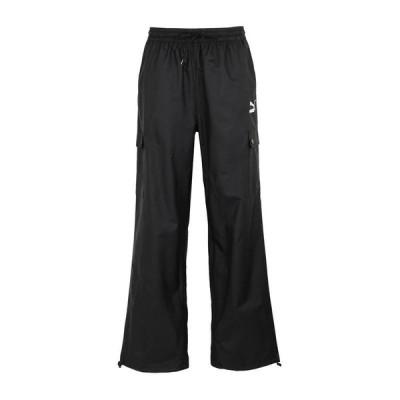 PUMA スウェットパンツ  レディースファッション  ジャージ、スウェット  ジャージ、スウェットパンツ ブラック