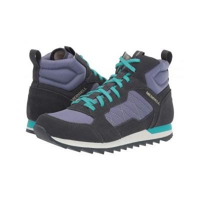 Merrell メレル レディース 女性用 シューズ 靴 スニーカー 運動靴 Alpine Sneaker Mid - Velvet/Ebony
