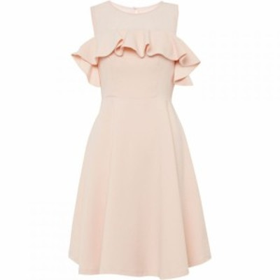フレンチコネクション French Connection レディース ワンピース ワンピース・ドレス Alissia Flare Cold Shoulder Dress Blush