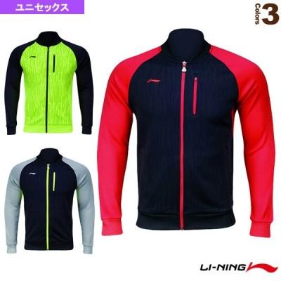 リーニン テニス・バドミントンウェア(メンズ/ユニ)  ウォームアップシャツ/ユニセックス(AWDK749)